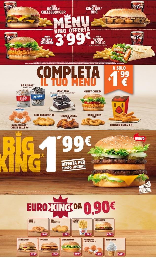 offerte burger king