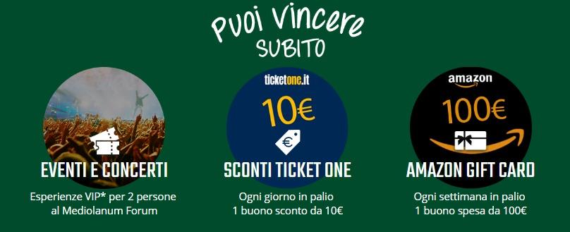 Ingrediente della fortuna buoni amazon e sconti ticket for Sconti coupon amazon